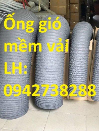 Ống gió mềm vải D200 hàng có sẵn0