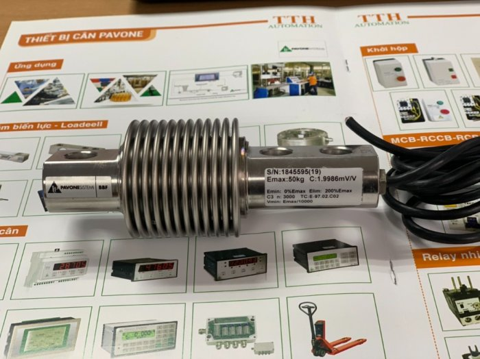 Loadcell chống rung BBF sản xuất chính hãng Italy. Chuyên dùng cho Cân băng tải, cân bồn, silo...1