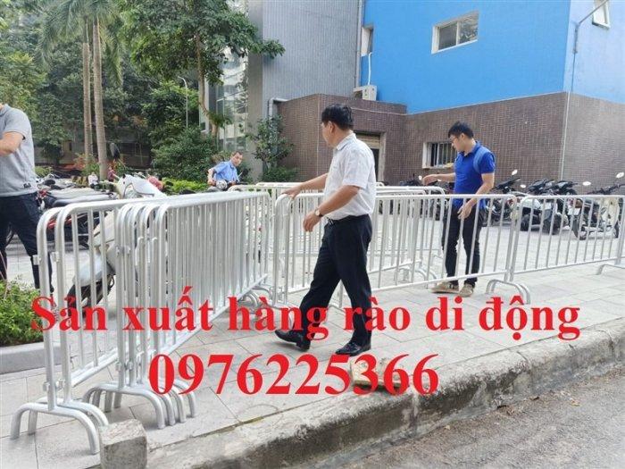 Hàng rào di động mạ kẽm, hàng rào an ninh, hàng rào bảo vệ6