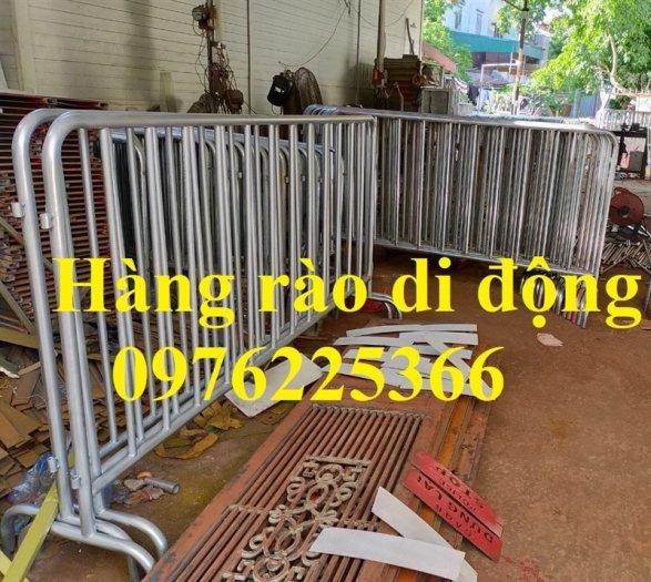 Hàng rào di động mạ kẽm, hàng rào an ninh, hàng rào bảo vệ1