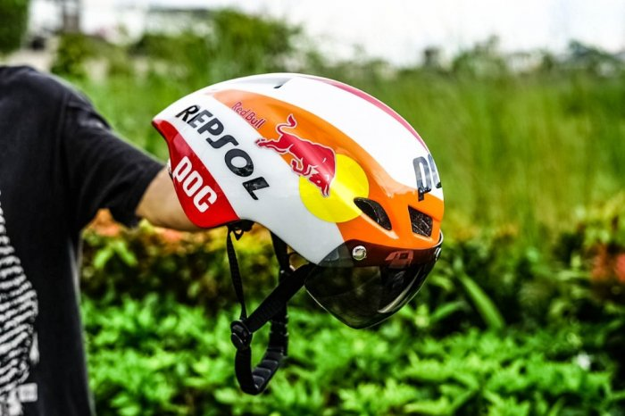 Mũ bảo hiểm thể thao Poc 01 Repsol4