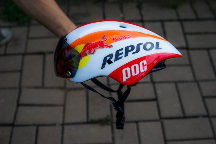 Mũ bảo hiểm thể thao Poc 01 Repsol3