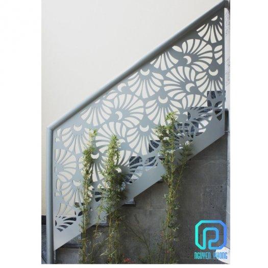 Cầu thang CNC sắt mỹ thuật bền-rẻ-đẹp mang lại không gian hiện đại đẳng cấp0
