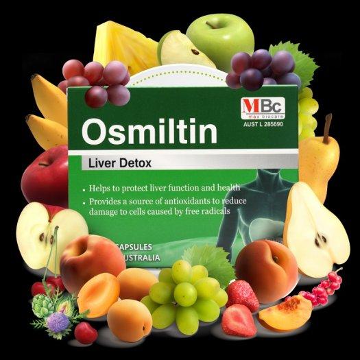 Osmiltin - Giải độc gan cao cấp từ Max Biocare2