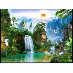 Gạch tranh phong cảnh - Bắc Ninh2
