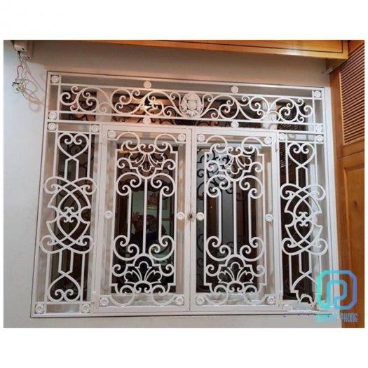 Mẫu khung bảo vệ cửa sổ sắt mỹ thuật nào phù hợp với nhà bạn?5