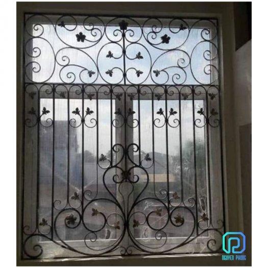 Mẫu khung bảo vệ cửa sổ sắt mỹ thuật nào phù hợp với nhà bạn?1