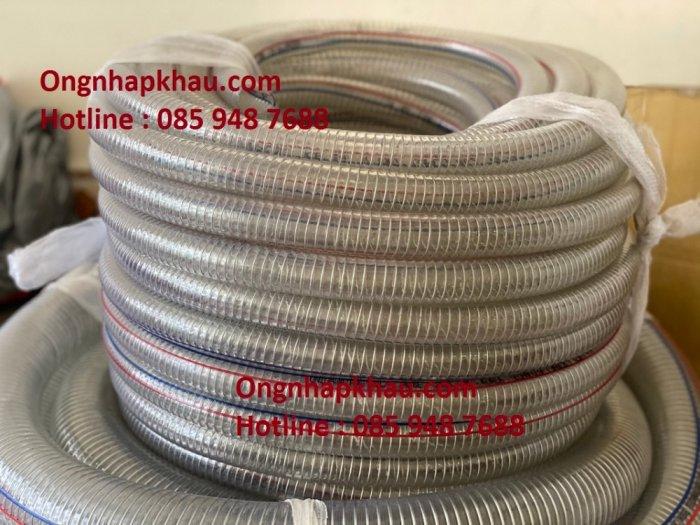 Chuyên cung cấp ống nhựa mềm lõi thép phi 13, phi 16, phi 19,....1