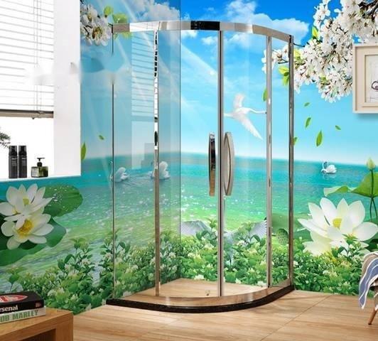 Tranh gạch 3d ốp tường phòng tắm - GCX29