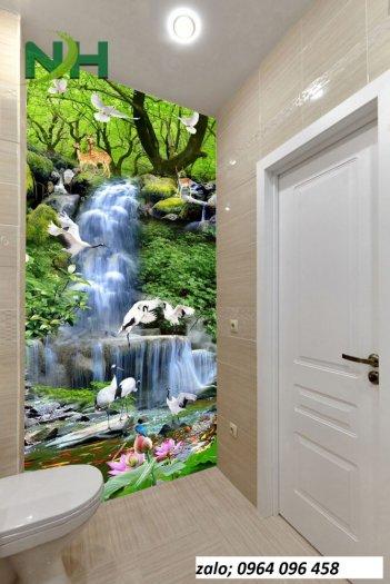 Tranh gạch 3d ốp tường phòng tắm - GCX21