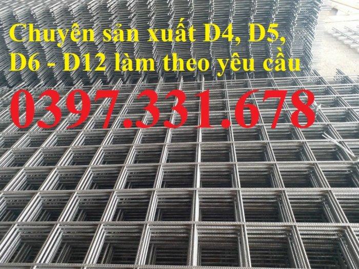 Lưới thép hàn phi 4 ô(50x50), ô(100x100), ô (150x150) hàng sẵn kho3