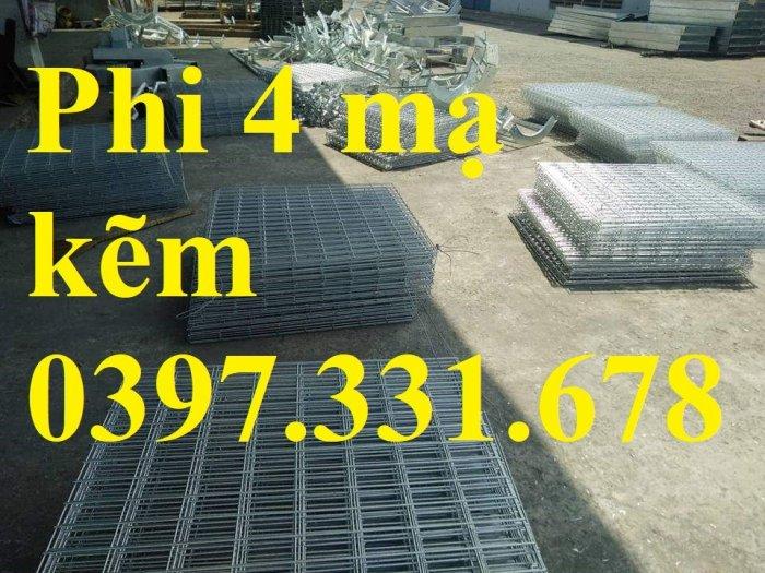 Lưới thép hàn phi 4 ô(50x50), ô(100x100), ô (150x150) hàng sẵn kho1