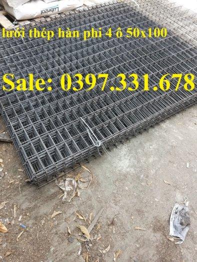 Lưới thép hàn phi 4 ô(50x50), ô(100x100), ô (150x150) hàng sẵn kho0