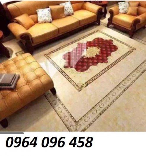 Gạch thảm - thảm gạch lát nền phòng khách đẹp - NNB658