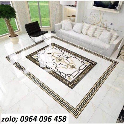 Gạch thảm - thảm gạch lát nền phòng khách đẹp - NNB652