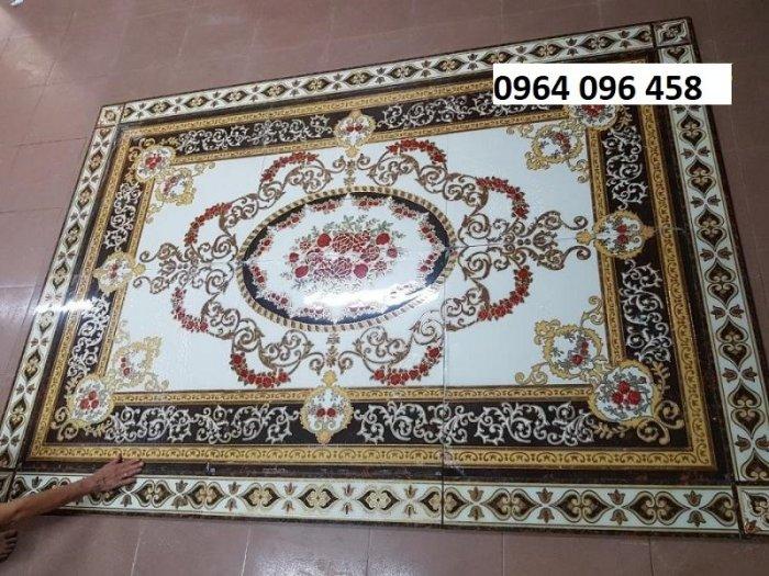 Gạch thảm - thảm gạch lát nền phòng khách đẹp - NNB651