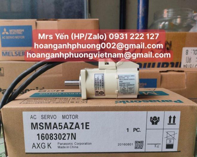 MSMA5AZA1E | Ac Servo Motor| Panasonic| Cty Hoàng Anh Phương phân phối trực tiếp2