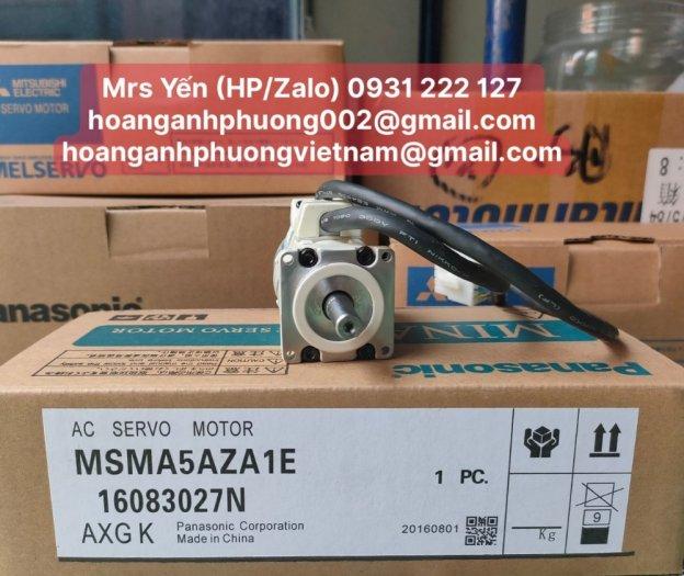 MSMA5AZA1E | Ac Servo Motor| Panasonic| Cty Hoàng Anh Phương phân phối trực tiếp1