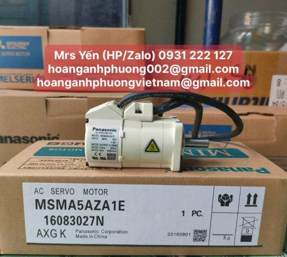 MSMA5AZA1E | Ac Servo Motor| Panasonic| Cty Hoàng Anh Phương phân phối trực tiếp0