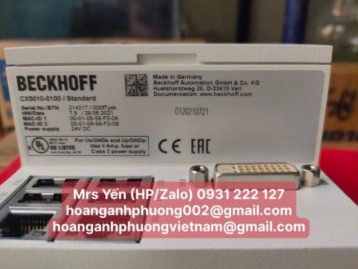 CX5010-0100   PLC   Beckhoff   Cty Hoàng Anh Phương nhập khẩu trực tiếp2