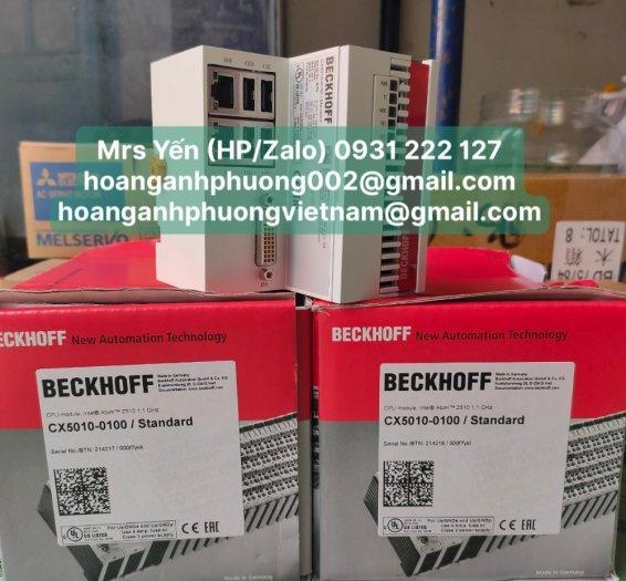 CX5010-0100   PLC   Beckhoff   Cty Hoàng Anh Phương nhập khẩu trực tiếp1