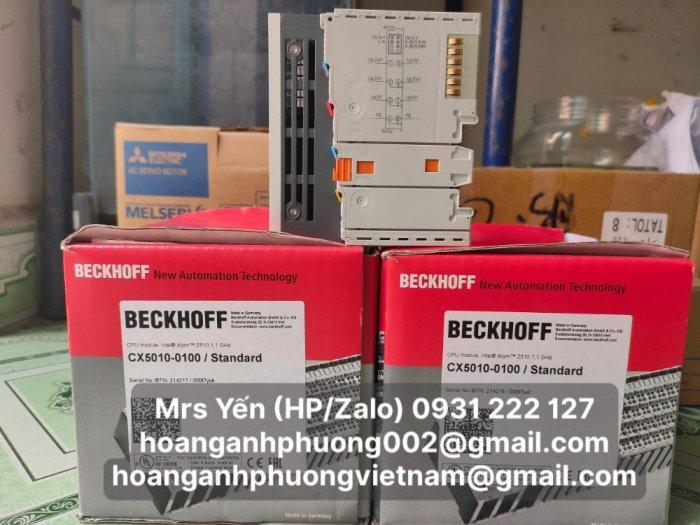 CX5010-0100   PLC   Beckhoff   Cty Hoàng Anh Phương nhập khẩu trực tiếp0