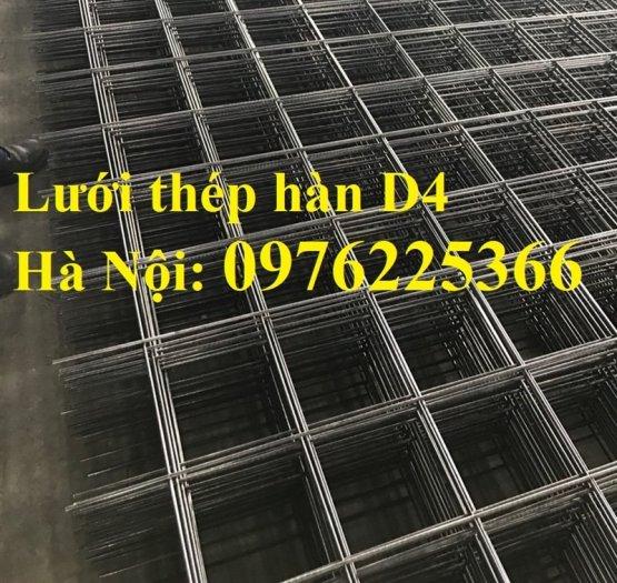 Lưới thép D4, lưới thép hàn D4, lưới thép hàn đổ sàn, đổ mái10