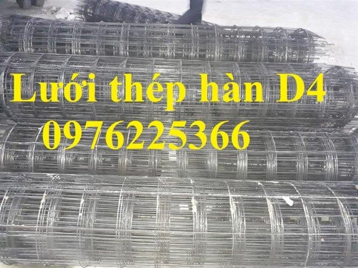 Lưới thép D4, lưới thép hàn D4, lưới thép hàn đổ sàn, đổ mái6