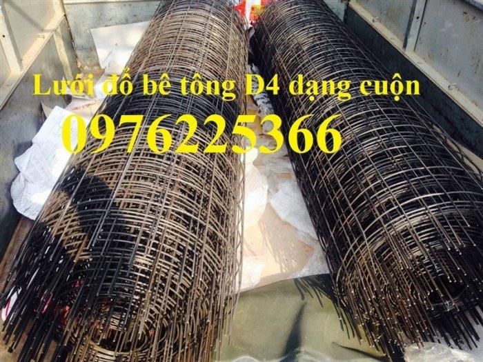 Lưới thép D4, lưới thép hàn D4, lưới thép hàn đổ sàn, đổ mái4