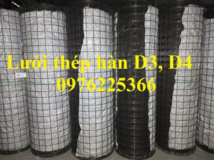 Lưới thép D4, lưới thép hàn D4, lưới thép hàn đổ sàn, đổ mái2