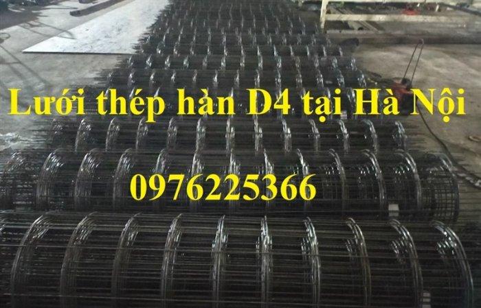 Lưới thép D4, lưới thép hàn D4, lưới thép hàn đổ sàn, đổ mái0