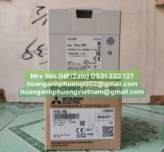 Module PLC FX3U-2HC | Mitsubishi | Hàng nhập khẩu và phân phối bởi Hoàng Anh Phương2