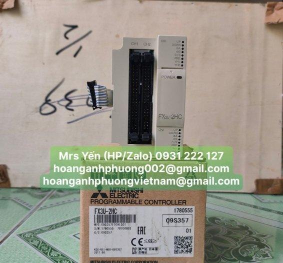 Module PLC FX3U-2HC | Mitsubishi | Hàng nhập khẩu và phân phối bởi Hoàng Anh Phương1