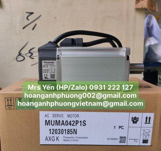 Động cơ servo MUMA042P1S  Panasonic   Cty Hoàng Anh Phương chuyên nhập khẩu và phân phối3