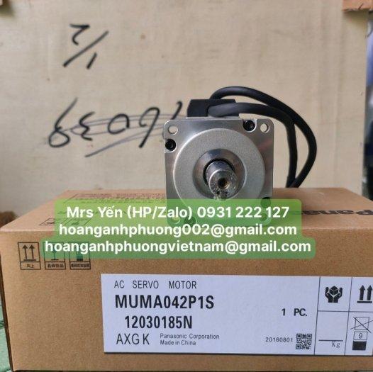 Động cơ servo MUMA042P1S  Panasonic   Cty Hoàng Anh Phương chuyên nhập khẩu và phân phối2