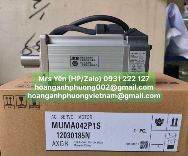 Động cơ servo MUMA042P1S  Panasonic   Cty Hoàng Anh Phương chuyên nhập khẩu và phân phối1