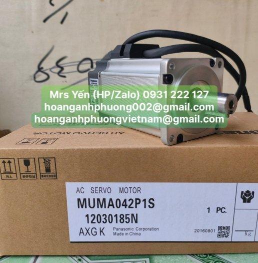 Động cơ servo MUMA042P1S  Panasonic   Cty Hoàng Anh Phương chuyên nhập khẩu và phân phối0
