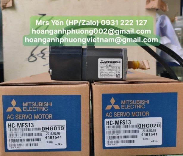 Servo Motor HC-MFS13   Mitsubishi   Hàng nhập khẩu chính hãng mới 100%2
