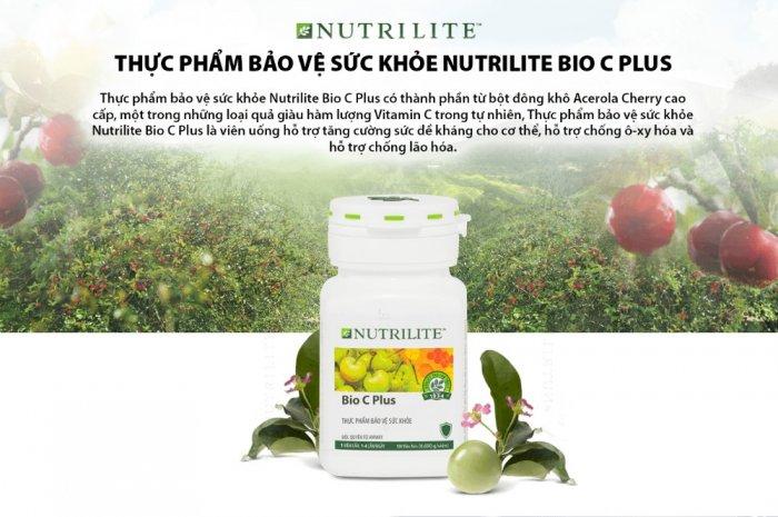 Thực phẩm bảo vệ sức khỏe Nutrilite Bio C Plus 1042702