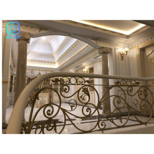 Cầu thang sắt mỹ thuật - lựa chọn hoàn hảo cho mọi gia đình3