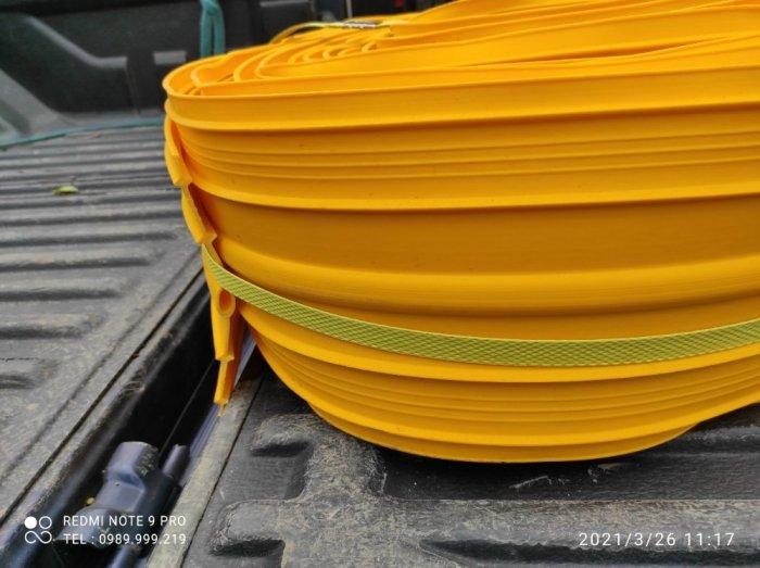 Cuộn nhựa vàng pvc v320-15m đến 20m dài lót chống thấm tường2