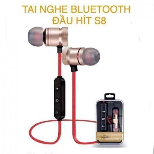 Tai Nghe Bluetooth Sport S8 – Âm Thanh Siêu Bass1
