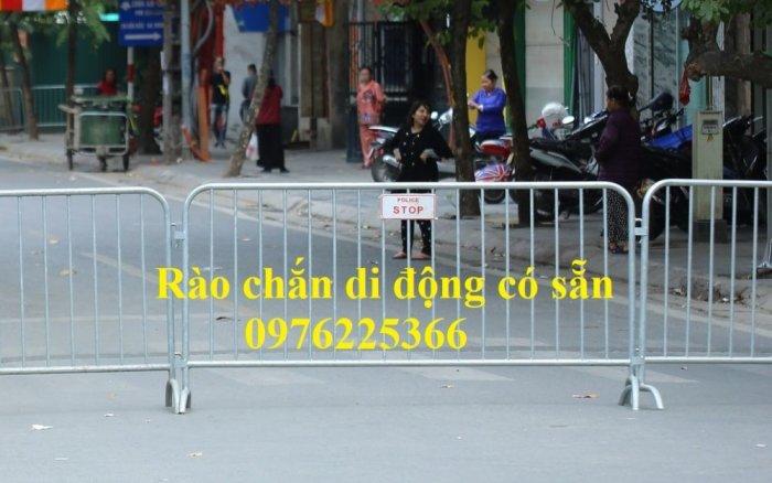 Hàng rào di động mạ kẽm giá tốt tại Hà Nội9