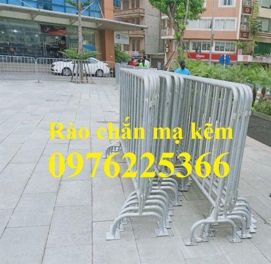 Hàng rào di động mạ kẽm giá tốt tại Hà Nội6