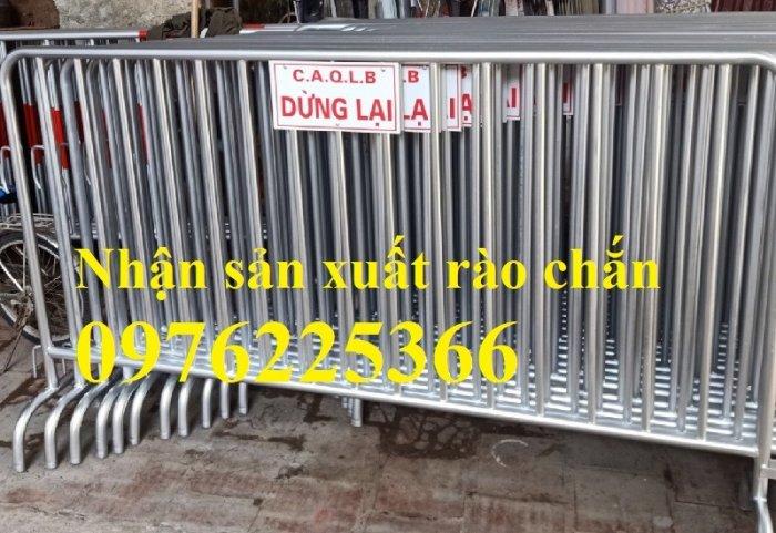 Hàng rào di động mạ kẽm giá tốt tại Hà Nội5