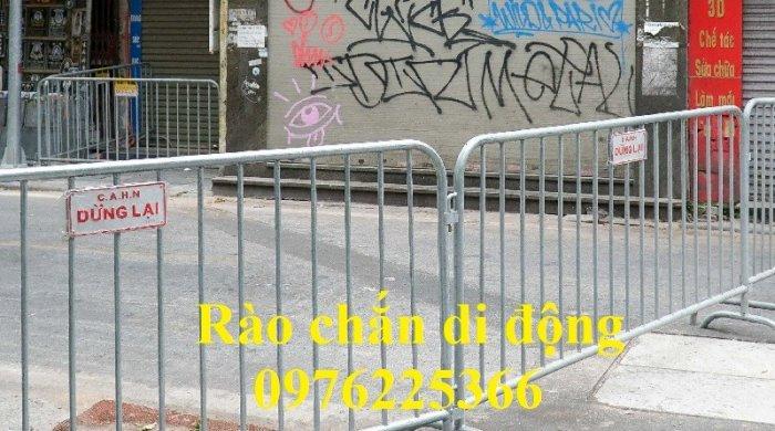 Hàng rào di động mạ kẽm giá tốt tại Hà Nội4