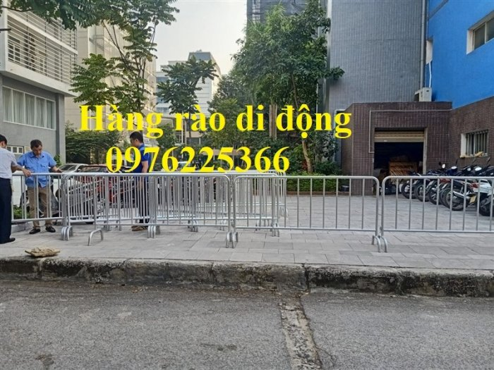 Hàng rào di động mạ kẽm giá tốt tại Hà Nội3