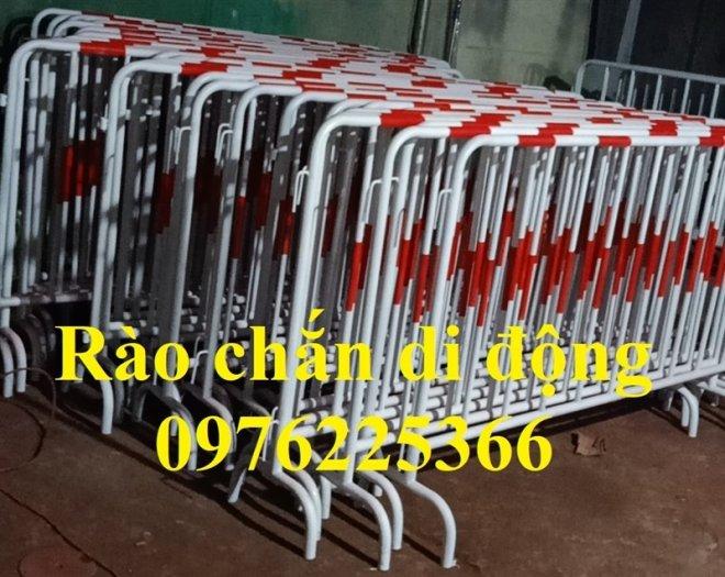 Hàng rào di động mạ kẽm giá tốt tại Hà Nội0