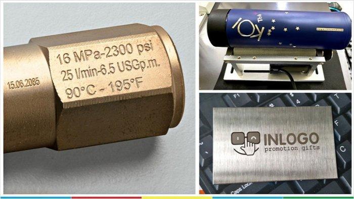 Máy khắc laser kim loại Raycus 20w2