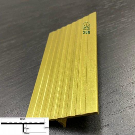 Nẹp chữ T đồng - Nẹp T60 đồng - Nẹp đồng trang trí - Nẹp đồng giá rẻ tại tp.HCM1